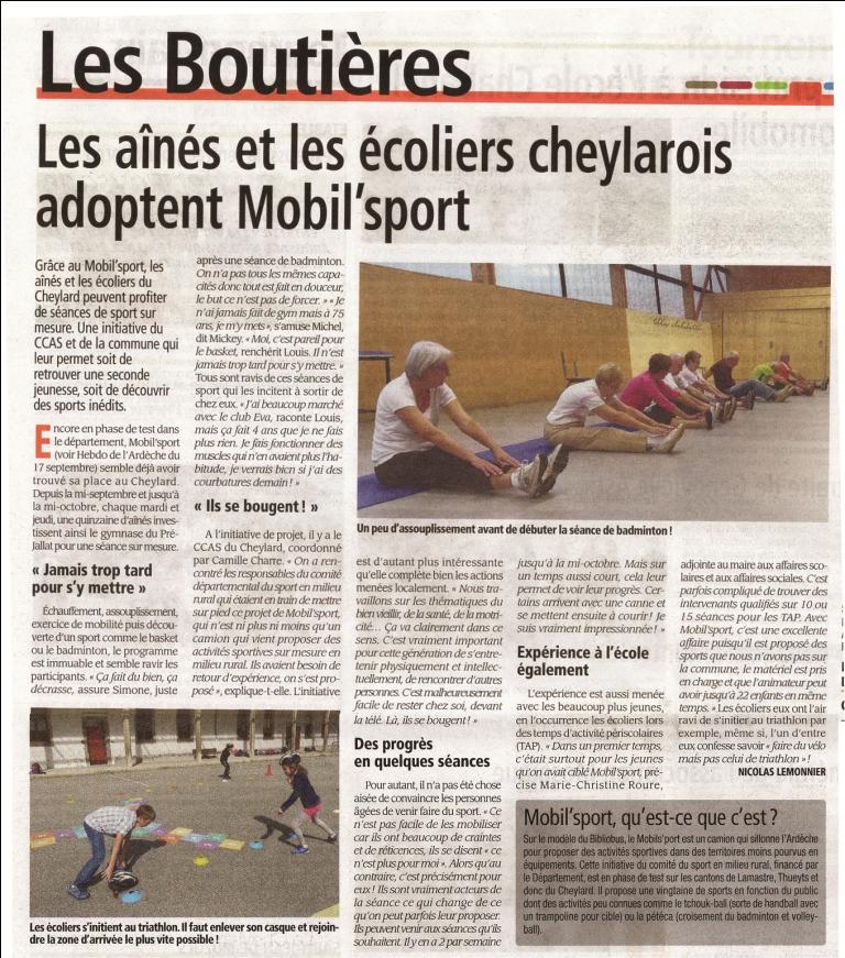 2015-10-01 - Hebdo de l'Ardèche
