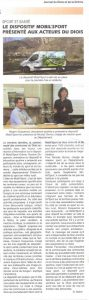Article Journal du Diois